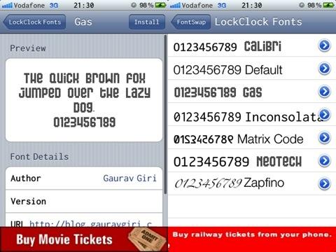 FontSwap Jailbreak iPhone app review