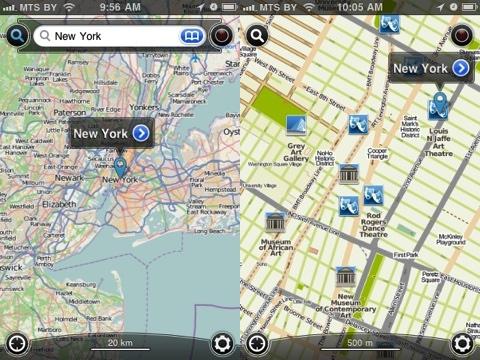 Galileo Offline Maps iPhone app review