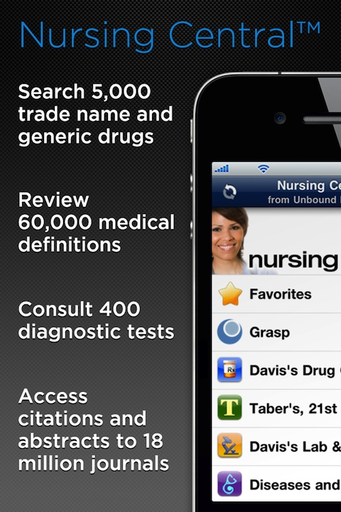 Nursing Central iPhone app review