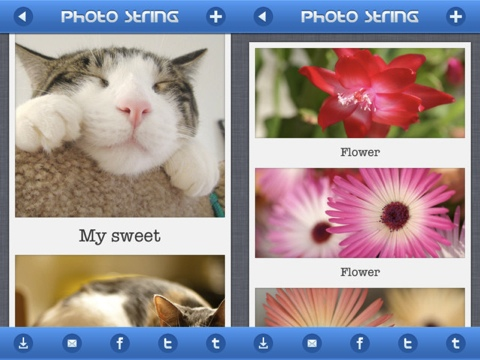 PhotoString iPhone app review