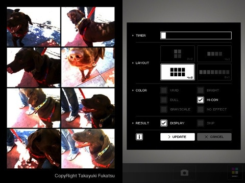 QuadCamera - MultiShot iPhone app review