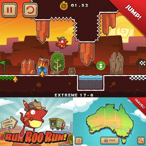 Run Roo Run iPhone app review