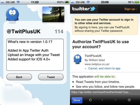 TwitPlus iPhone app review