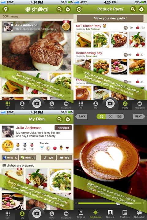 DishPal iPhone app review