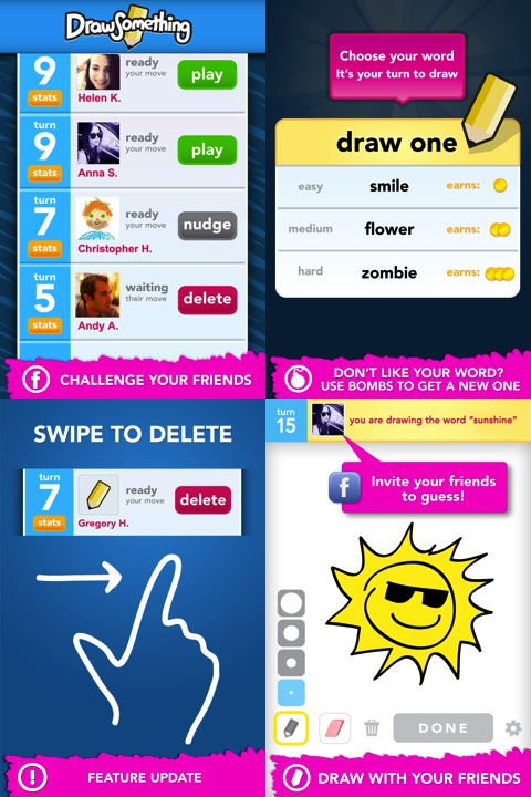 Draw Something iPhone app review