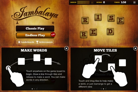 Jambalaya iPhone and iPad app review