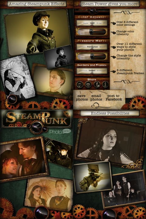 Steampunk PhotoTada iPhone app review