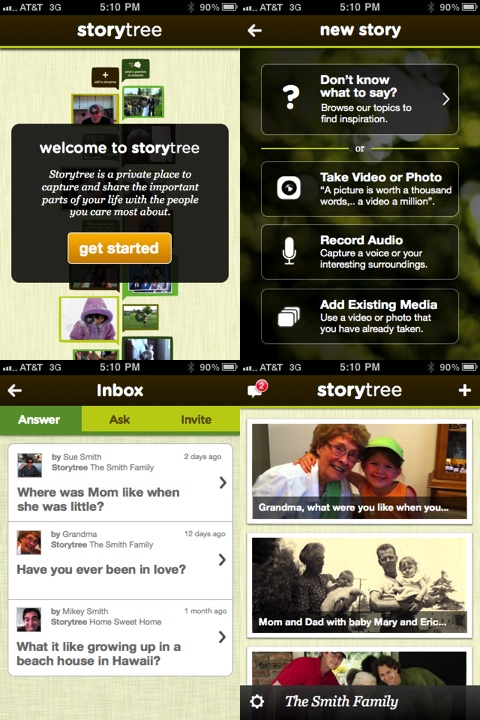 Storytree iPhone app review