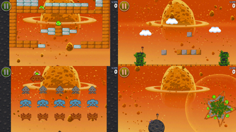Angry Birds Space Eggsteroids