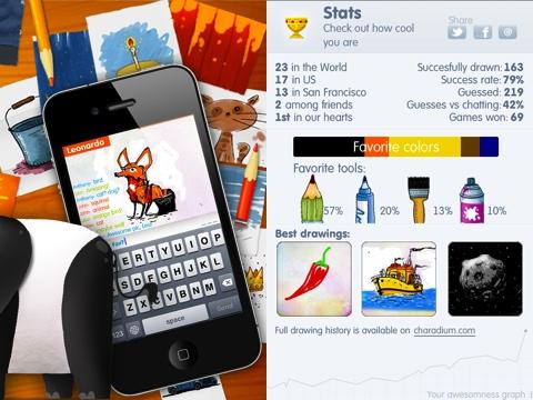 Charadium II iPhone app review