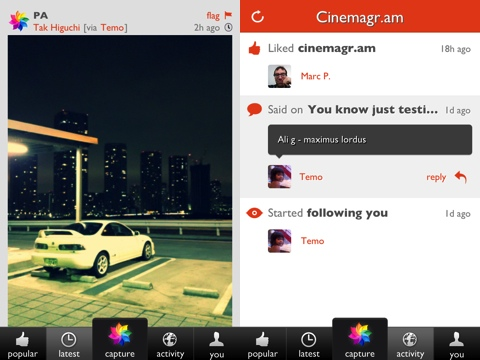 Cinemagram iPhone app review