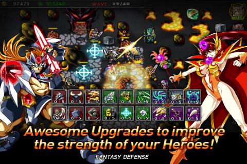 Fantasy Defense iPhone app review