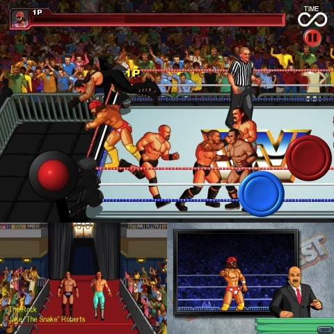 WrestleFest Premium iPhone game review