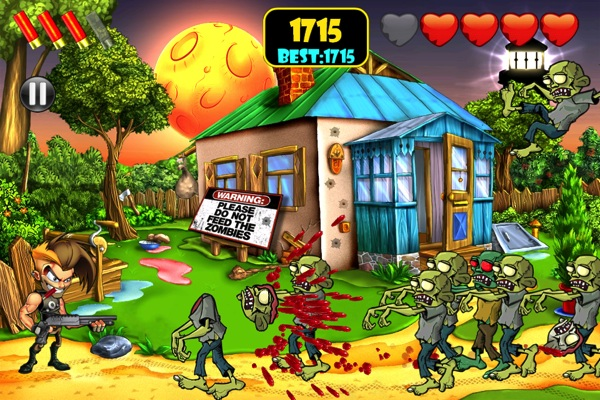 Zombie Area! iPhone game review