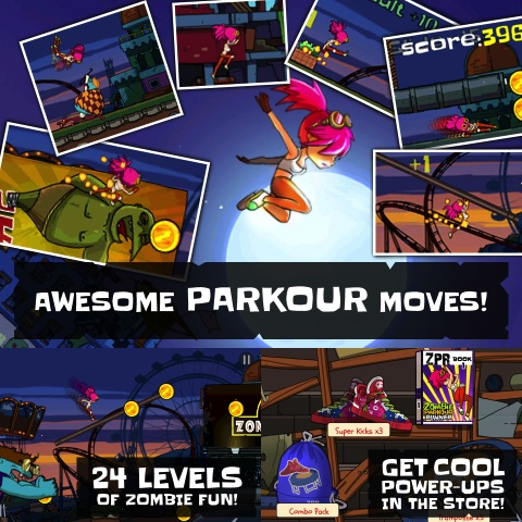 Zombie Parkour Runner review
