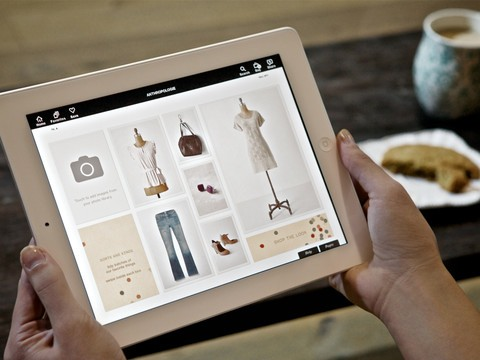 Anthropologie for iPad app review
