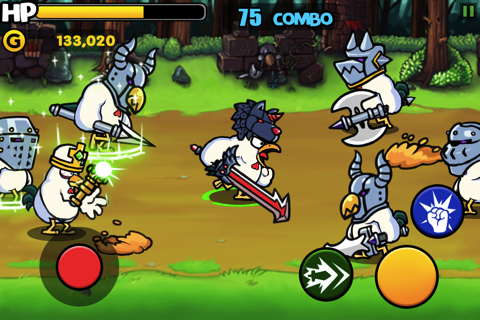 Chicken Revolution : Warrior iPhone app review