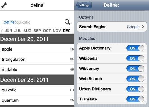 Define: iPhone app review