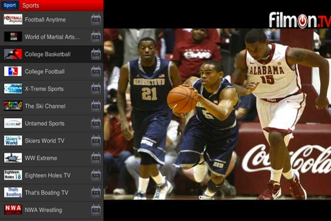 FilmOn Free TV Live iOS app review