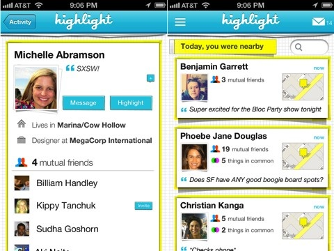 Highlight iPhone app review