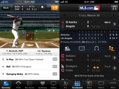 MLB.com At Bat iPhone and iPad app review