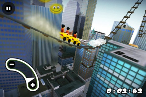 New York 3D Rollercoaster Rush iPhone app review
