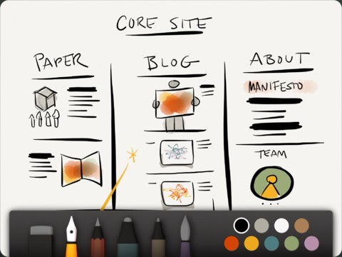 Paper by FiftyThree iPad app review