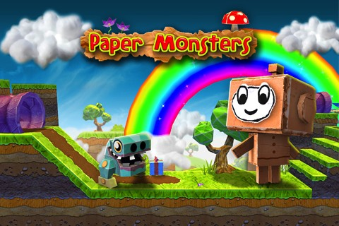 Paper Monsters iPhone game review