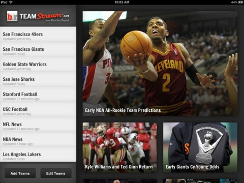 Team Stream HD iPad app review
