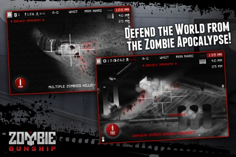 Zombie Gunship iPhone game review