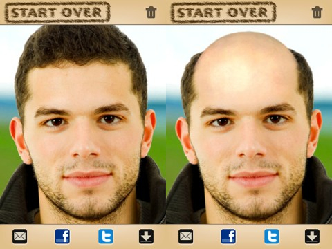 BaldBooth iPhone app review