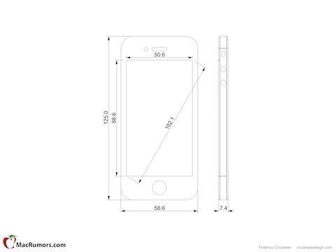 iPhone 5 Tall Boy Design Concept