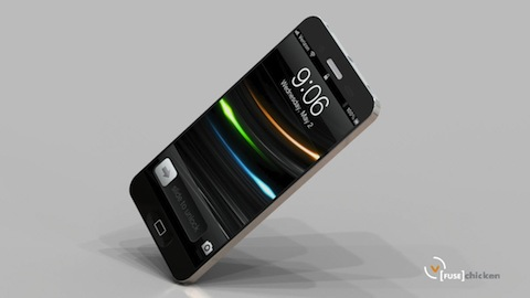 iPhone 5 Concept rendering from Fuse Chicken