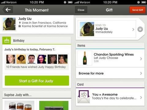 Karma iPhone app review