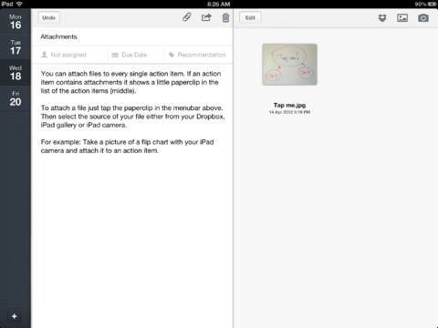 MinuteTaker - Meeting Minutes iPad app review