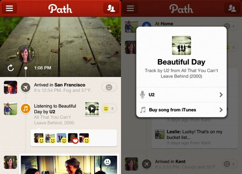 Path iPhone app review