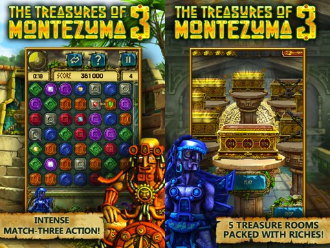 The Treasures of Montezuma 3 iPhone game review