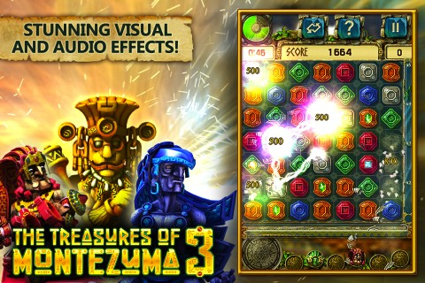 The Treasures of Montezuma 3 iPhone app review