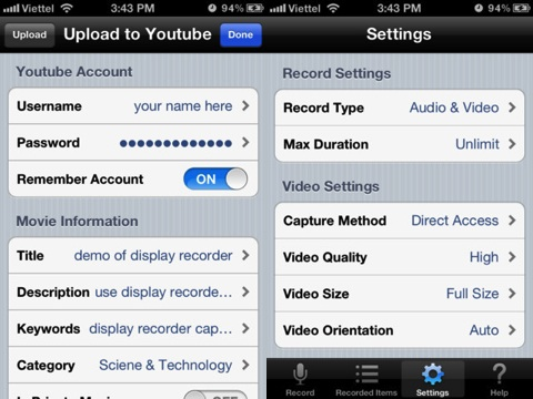 Display Recorder iPhone app review