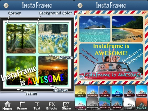 Instaframe Pro iPhone app review