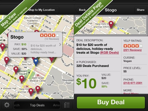 BiteHunter - Dining Deals for Restaurants iPhone app review