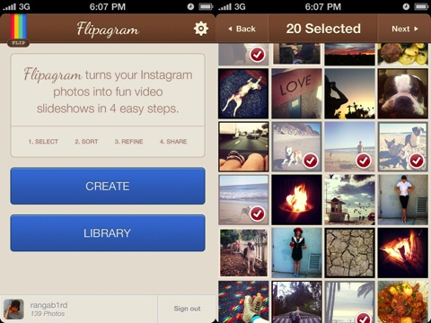 Flipagram iPhone app review