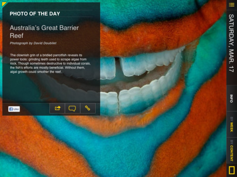 National Geographic Today iPad app review