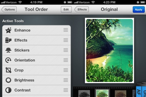 Photo Editor by Aviary iPhone app review