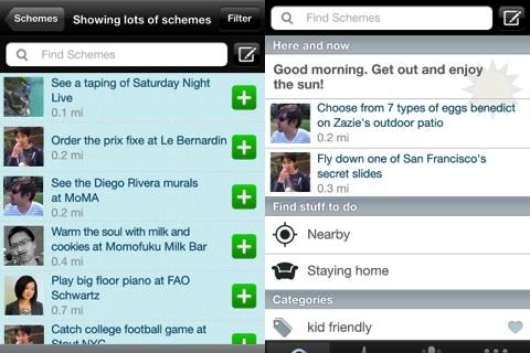 Schemer iPhone app review