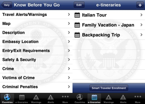 Smart Traveler iPhone app review
