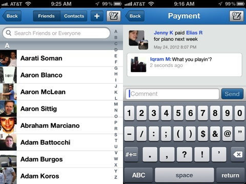 Venmo iPhone app review