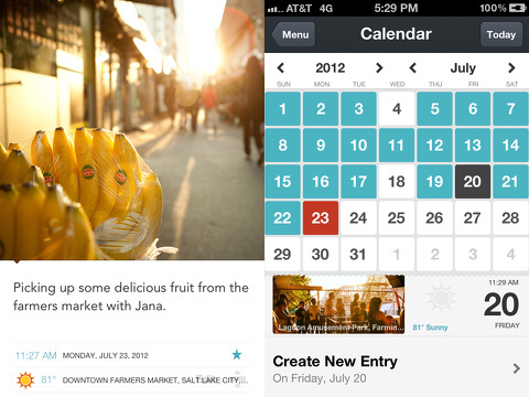 Day One - Journal iPhone and iPad app review
