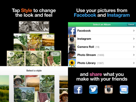 Mixel for iPhone app