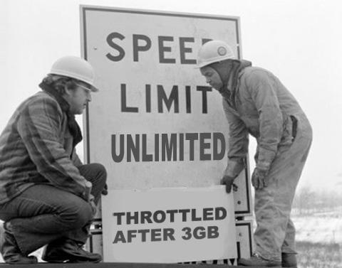 AT&T Throttled Data Speeds